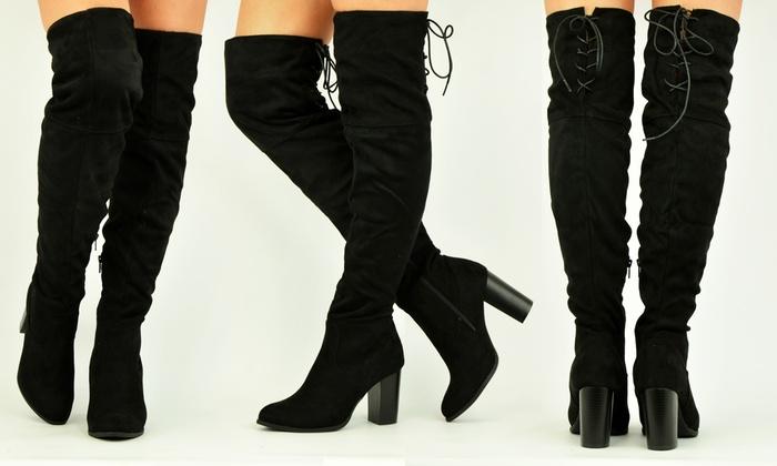 Come indossare gli stivali alti sopra il ginocchio CHIARA's