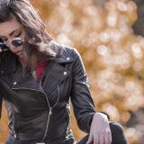 Giubbino in pelle Leather Trend